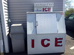 Self Serve Ice Vending Machines Inspiration Ice Vending Machine Freezer Self Serve For Bagged Ice Pics Flickr