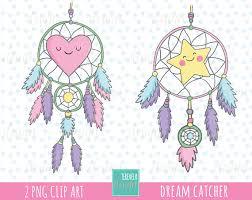 Kawaii Dream Catcher 41% SALE Dream catcher clipart boho clipart tribal cliparpar 1
