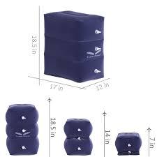 <b>Travel</b> Bread <b>Travel Foot</b> Rest Pillow, Adjustable Height <b>Inflatable</b> ...