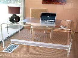 acrylic office desk 2 acrylic office desk