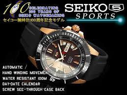 seiko specialty store 3s rakuten global market seiko centennial seiko centennial anniversary limited model seiko 5 sports mens automatic winding watch rose gold case black