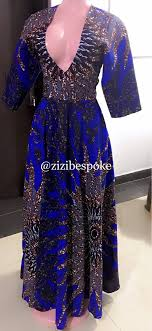 Burning Bush Size Chart Blue Burning Bush Ankara Print Dress African Print Ankara African Midi Dress Midi Dresses Ankara Print Dress
