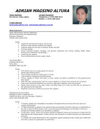 Sample Of Comprehensive Resume Sample Of Comprehensive Resume Cover Letter shalomhouseus 2