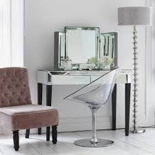 Small Bedroom Vanity Table Small Mirrored Tables Diy Makeup Vanity Tables Black Silver Leaf