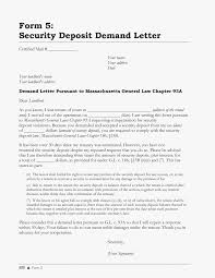 Best Photos Of Letter To Landlord Deposit Landlord Security
