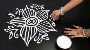 Telugu Muggulu Designs With Dots Muthyala Muggulu Art Designs Rangavalli Muggulu Designs