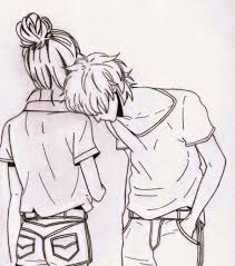 Cute Couple Drawings Ideas Tumblr Great Drawing Aweshomey Com
