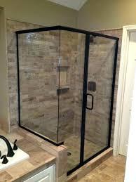 frameless shower door sweep seal installation glass canada