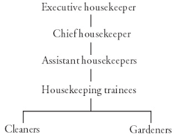Housekeeping Department Functional Chart Housekeeping In Eye Care Services Manual Chapter 1
