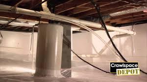 Part 1: Crawlspace Depot DIY Installation - YouTube