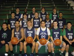 Notre Dame Basketball Depth Chart Notre Dame 2011 2012 Boys Basketball Roster Highlights