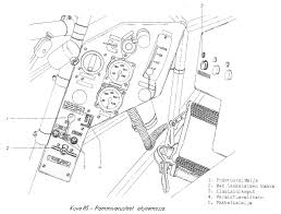 Bomb equipment in cockpit