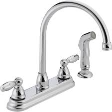 Danze Kitchen Faucets Reviews Peerless Faucets Two Handle Centerset Kitchen Faucet With Side