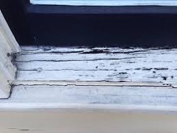 how to repair weathered window sill