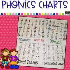 Phonics Charts 6 Sets