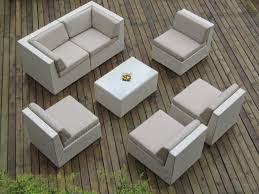 White outdoor furniture Contemporary Outdoor Couch Design From Ohana Outdoor Furniture Looks Good For Modern Patio Decoration Cb2 Exterior Design Extraordinary Ohana Outdoor Furniture Design With