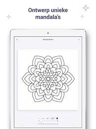 Kleurboek Voor Mij En Mandala In De App Store
