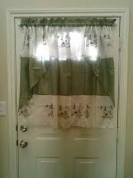 front door window coverHalf Window Curtains Attractive Front Door Half Window Curtains