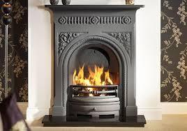 fairburn 36 cast iron fireplace in black