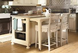 breakfast bar ideas for kitchen with extended zinc countertops table island two barstools fabric cushion kitchen island table ikea31 kitchen