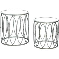 silver pedestal side table silver side table small round silver side table silver side table silver