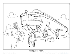The great thing about homeschooling is that you can turn anything into an educational experience, including bible stories! Noah S Ark Coloring Pages Noah Printable Sheets For Kids