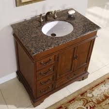 "36"" Ashley - Bathroom Vanity Single Sink Cabinet (English Chestnut ..."