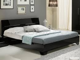 Bed Ginola 160x200 Cm Hoogglans Zwart Bij Mobistoxx