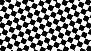 Wallpaper black white checkered squares ...
