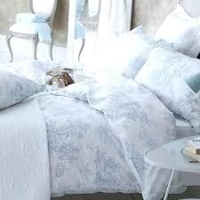 toile comforter set blue toile comforter sets