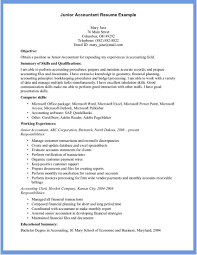 Senior Accountant Resume Examples Examples Of Resumes