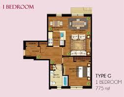 ... Modern Luxury One Bedroom Apartment Floor Plans With FLOOR PLANS ...