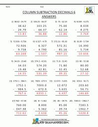 Kids. fifth grade math sheets: Fifth Grade Decimals Multiplication ...