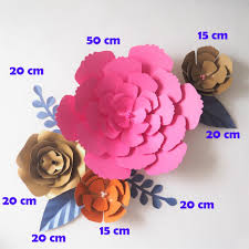 diy artificial flowers fleurs artificielles backdrop giant paper flowers paper leave wedding party decor baby shower diy paper flower wedding decorations