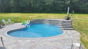 stamped concrete pool patio. S124 900x450; (1) Stamped Concrete Pool Patio