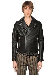the kooples smooth leather biker jacket black men clothing jackets the kooples leather jacket