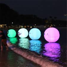 Factory Sale Inflatable Water Floating Light Balloon Outdoor Inflatable Remote Control Led Light Balloon Buy Floating Light Balloon Remote Control