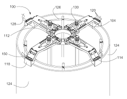 US20130207305A1 20130815 D00000 patent us20130207305 pole base bolt template google patents on 4 inch diameter circle template