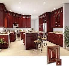 Dark Wood Cabinets In Kitchen Dark Cherry Wood Kitchen Cabinets