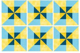 Easy Double Pinwheel Quilt Block Pattern