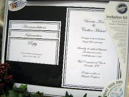 white scroll pocket printable wedding invitation count cheap Wedding Invitation Kits Print Your Own pocket wedding invitations kits on bride ca diy wedding invitations print your own kits by wilton wedding invitation kits print your own