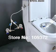 Free Shipping Toilet Bidet Combination Blue and White Hygenic Bio Bidet  Shower, New Items for