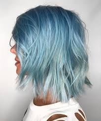 Light Blue Short Hair 30 Icy Light Blue Hair Color Ideas For Girls Pastel Blue