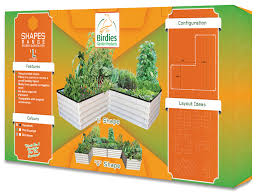 birs shapes range raised garden bed