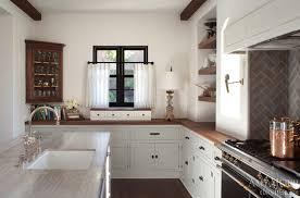 before after spanish kitchen renovation amy meier design