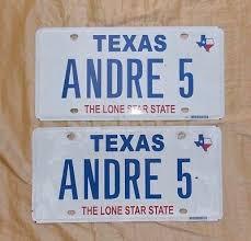 TEXAS CWBY UP License Plate Cowboy Vanity Tag Lonestar Car Truck ...