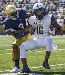 Notre Dame Depth Chart Fathers Words Sons Heart Coaxing Houston Griffith Up The