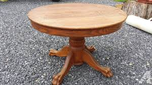 antique oak claw feet round dining table wow so nice for in winchester virginia