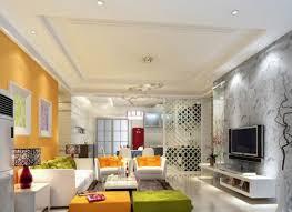 Orange Couch Living Room Orange Sofa And Rustic Wood Floor Interior Design