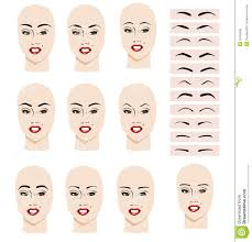 eyebrow shaping for face shape. spectacular eyebrow different face shapes 80 for with shaping shape